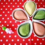 犬用フライパンケーキ【ひな祭りの3色ミニケーキ】