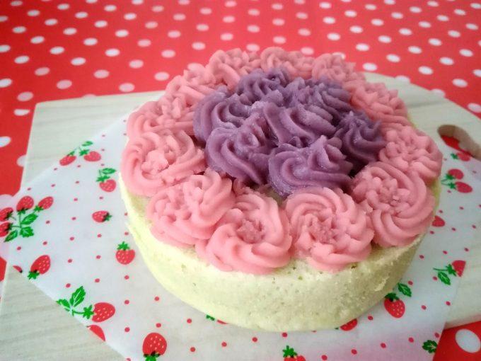 春のお花畑犬用ケーキ