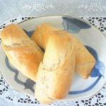犬の手作りおやつレシピ【犬用豆乳ロールパン】