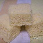 犬用手作りケーキレシピ【簡単!レンジで上新粉のケーキ】