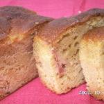 犬の手作りおやつレシピ【犬用 紅玉のパウンドケーキ】