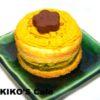 犬用ケーキレシピ【かぼちゃのミニケーキ8cm小麦アレルギー対応】