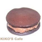 犬のケーキレシピ【キャロブクリームのミニどら焼き】