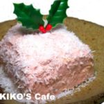 犬のケーキレシピ、電子レンジで簡単片栗粉ケーキレシピ。