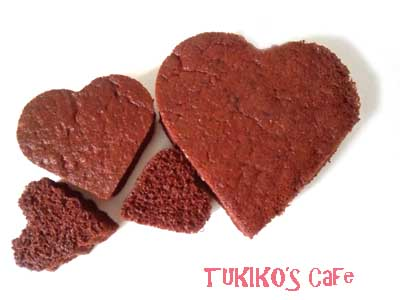 犬用バレンタインケーキレシピ