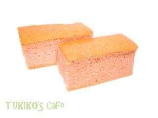 犬用カステラ桜レシピ