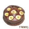 犬用ケーキレシピ【バナナとキャロブのミニケーキ】