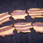 犬用クッキーレシピ【ぶたさんしましま犬用クッキー】