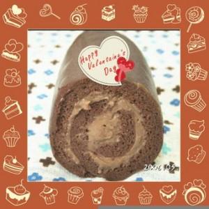 犬のバレンタインケーキレシピ