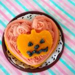 犬のハロウィンレシピ【かぼちゃのハロウィンプレート】