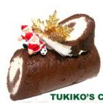 犬用クリスマスケーキレシピ【米粉のミニブッシュドノエル】