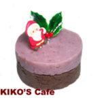 犬のクリスマスケーキレシピ【じゃがいものピンクミニケーキ】