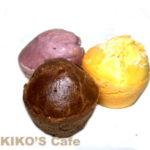 【犬のおやつレシピ】簡単ノンエッグちび紫いもマフィン