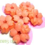 犬用ケーキレシピ【桜のミニケーキ】