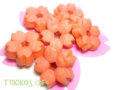 桜 犬用ケーキ