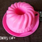 シリコン製のクグロフ型です☆犬用ケーキおやつ作り☆