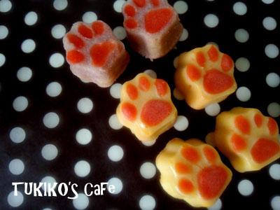 犬用肉球ケーキ作リ方