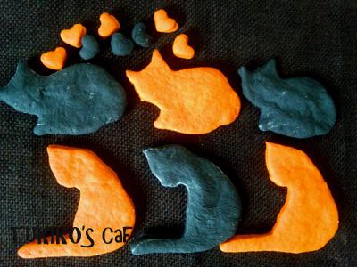 犬用ハロウィンクッキー猫