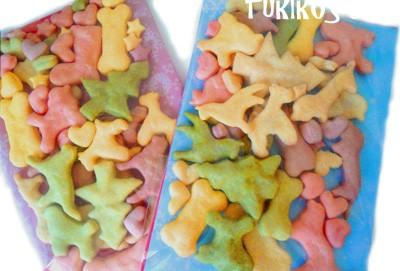 犬のクッキープレゼント