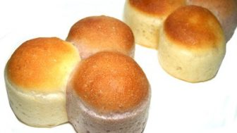 犬用パン作り、3色パンの型☆