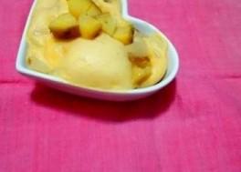 犬のケーキレシピ【犬用ふわっと蒸しケーキ さつまいも&りんご】