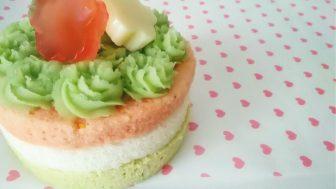 グルテンフリー&卵不使用犬用ケーキレシピ【ひな祭り】